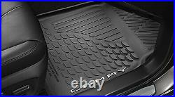 2018-2020 Toyota Camry All Weather Floor Mats Set Of Four Black OEM