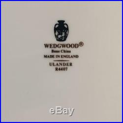 20pc Wedgwood Black Ulander Lot 4x Complete 5 Piece Place Settings Ch5581