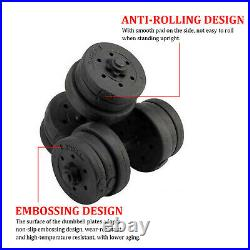 30Kg Dumbells Pair of Gym Weights Barbell/Dumbbell Body Building Free Weight Set