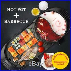 Barbecue electric portable for interior, multifunction. 5 settings of temperatur