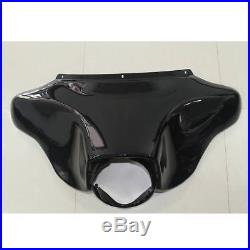 Black Front Batwing Outer Inner Fairing For Harley Touring Street Glide FL 96-13
