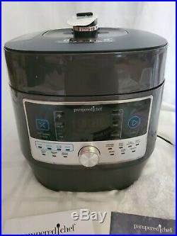 Brand New In Box Pampered Chef Quick Cooker 16 Programmable Settings
