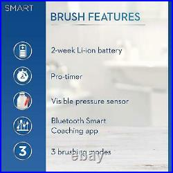 Braun Oral-B Smart 4 4500 Electric Toothbrush Rechargeable + Case Gift Set Black