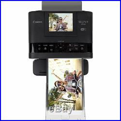 Canon SELPHY CP1300 Compact Photo Printer with RP-108 Ink/Paper Set Bundle Kit