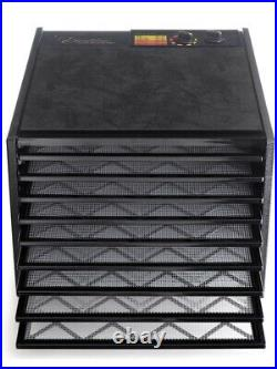 Excalibur 3926TB 9-Tray Electric Food Dehydrator with Temperature Settings Black