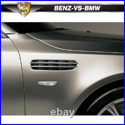 Fits 04-10 BMW E60 5-Series M5 Style Metal Fenders With Side Vent Pair
