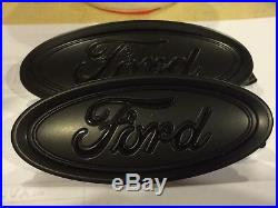 Ford FOCUS 2015=2018 MATTE BLACK & GLOSS LETTERS, Custom paint set, no decals