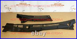 IONIC DYNAMICS 300zx VENTED cowl set + rubber trim! Unpainted. Free US shipping