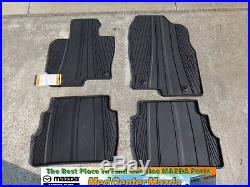 Mazda CX-5 All Weather Floor Mats set of 4 2013 2014 2015 2016 00008BR12A