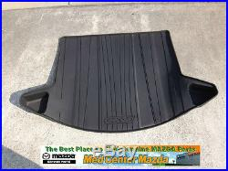 Mazda CX-5 Cargo Tray with Mazda CX-5 Set of 4 All Weather Floor Mats 2013-2016