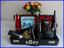 New Irish Uilleann Pipes Half Set, Learn To Play With Tutor Book & Box