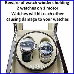 ON Sale Versa Quad Watch Winder in Black Independently Controlled Settings