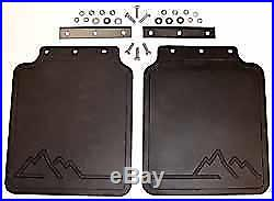 Set of 2 Genuine Land Rover RTC6821 Rear Mud Flaps for Discovery 1