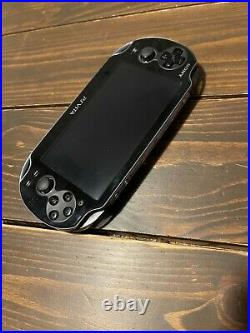 Sony PS Vita Black PCH 1000 1100 Console with USB Charger set Playstation