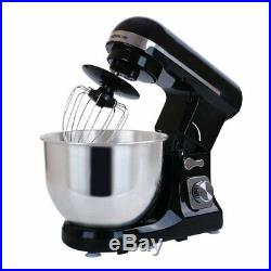 Wonderchef Stand Mixer 1000W 220V Mixer Bowl with Lid 5L 6 Speed settings Black